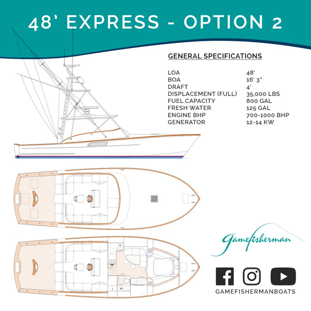 48' Express - Option 2