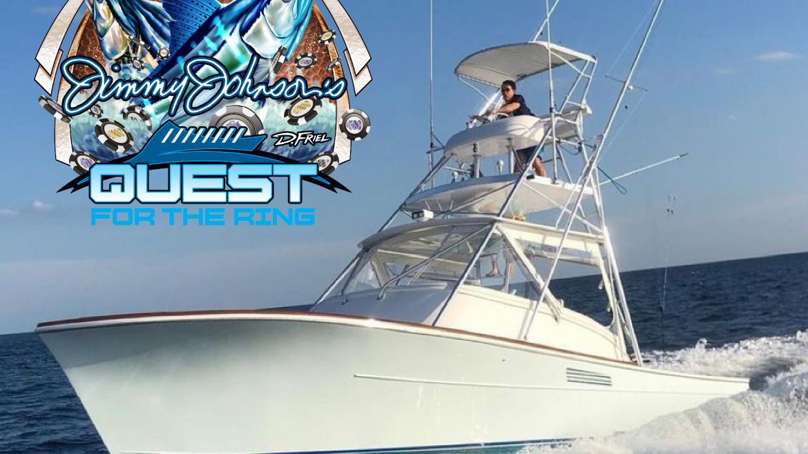 """Jimmy Johnson's Atlantic City """"Quest For The Ring"""" Championship Fishing Week"""